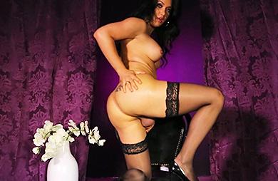Bianka purple Bianka Nascimento. Sweet big cock Bianka stroking