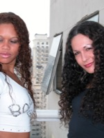 Interracial have sex spree with nikki and gaby.